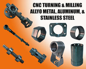 CNC Turning & Milling - Alloy Metal, Aluminum, & Stainless Steel